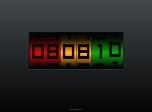Numeric Clock - Effects Screensavers