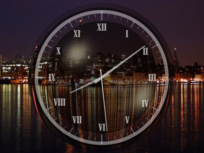 New York Clock Free Clock Screensaver